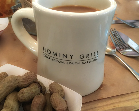 Hominy Grill Boiled Peanuts