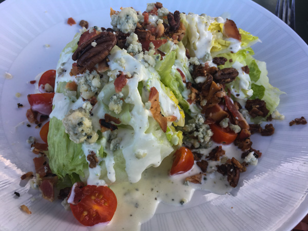 Rocks on the Roof Wedge Salad